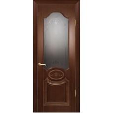 Ульяновские двери Мулино 04 орех тёмный ДО