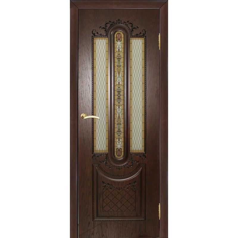 Ульяновская дверь Мулино 05 дуб коньячный ДО