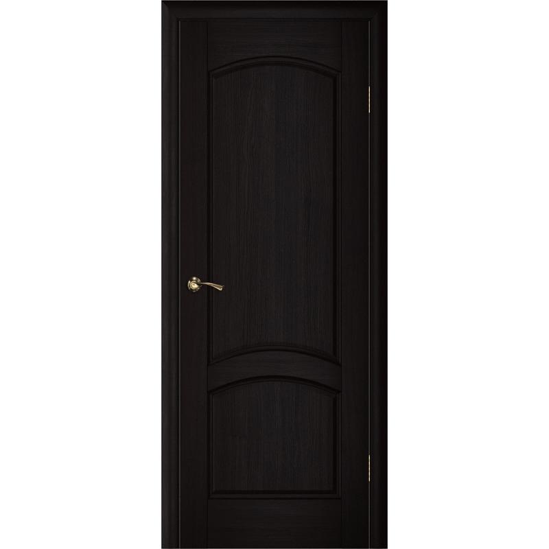 Ульяновская дверь Вайт 01 чёный дуб ДГ