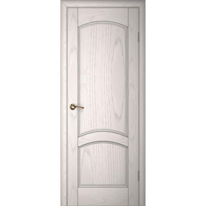Ульяновская дверь Вайт 01 ясень айсберг ДГ