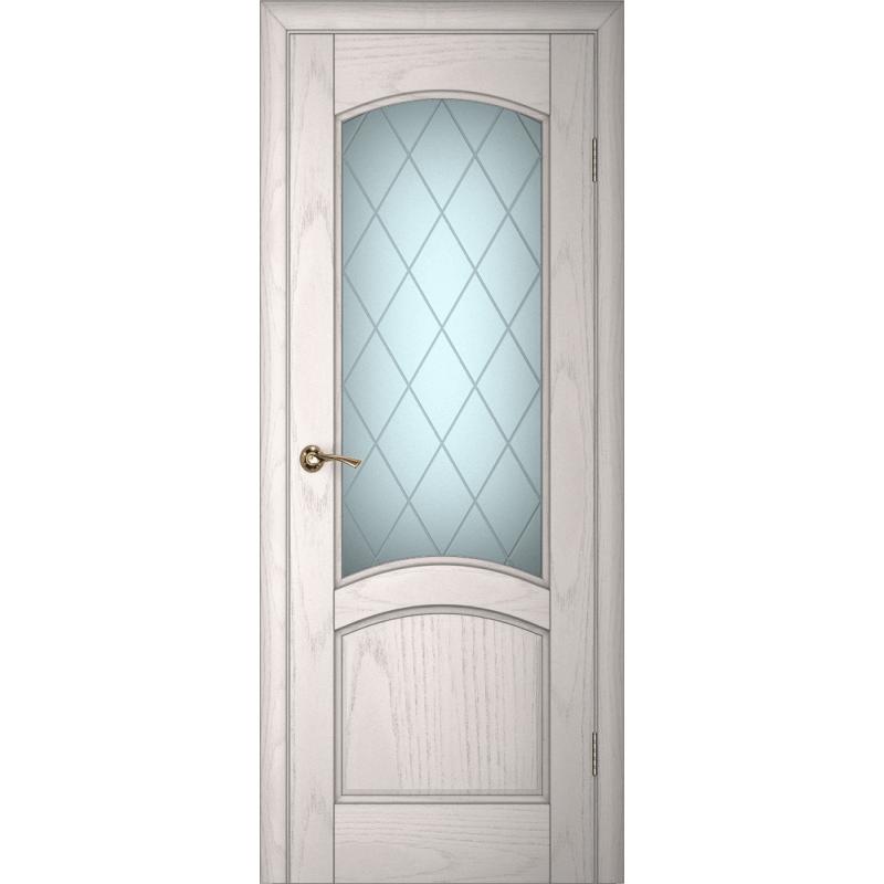 Ульяновская дверь Вайт 01 ясень айсберг ДО