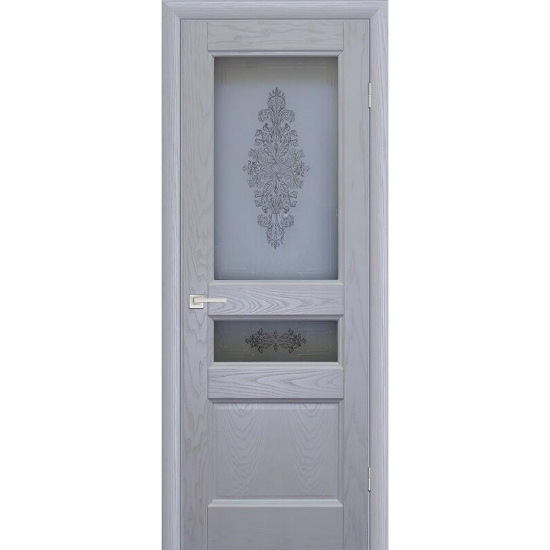 Ульяновская дверь Вайт 02 ясень айсберг ДО