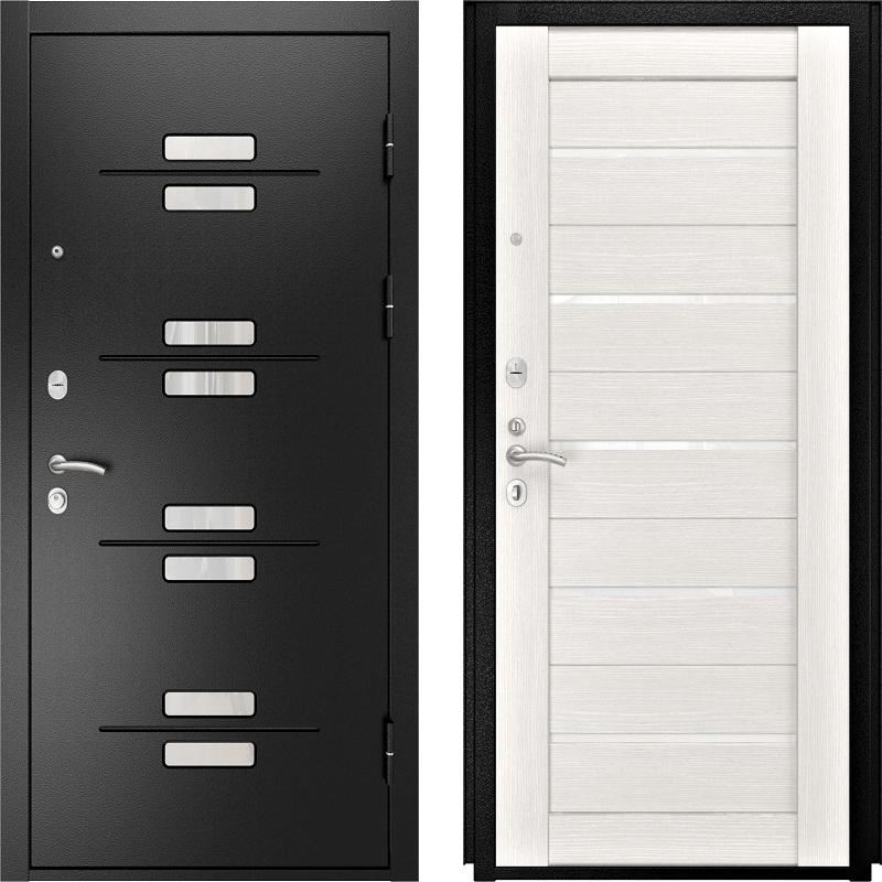 Входная дверь Luxor-13 ЛУ-22 белёный дуб