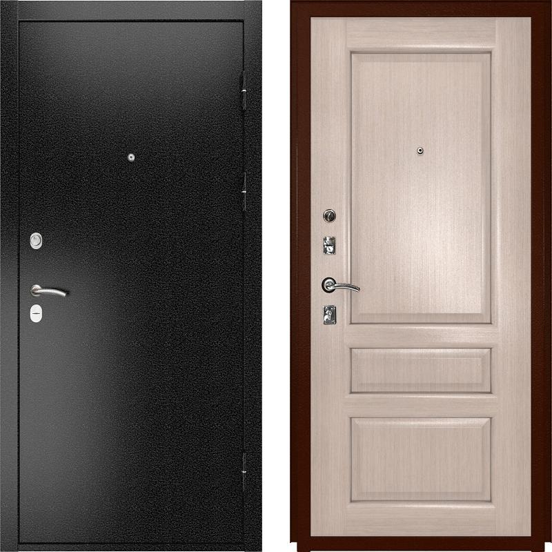 Входная дверь Luxor-3b Валентия-2 белёный дуб