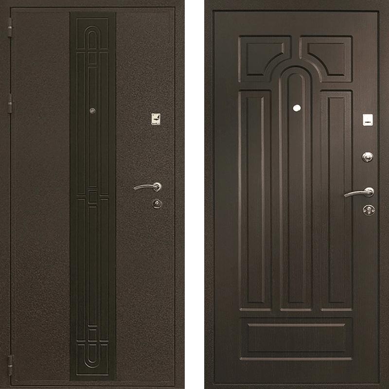 Входная дверь Рим венге