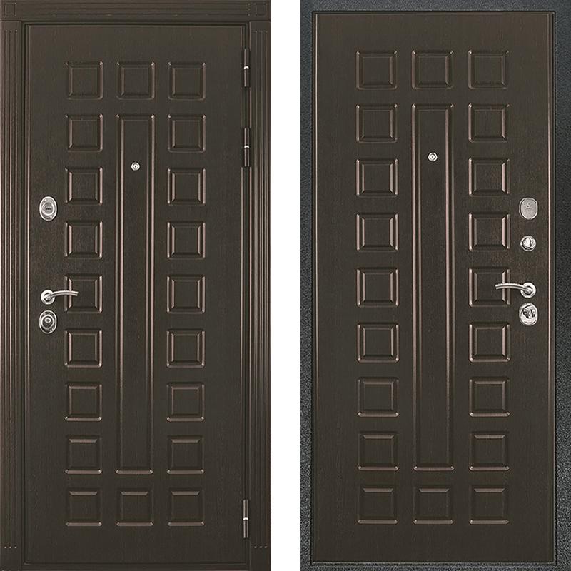 Входная дверь Триумф венге-венге