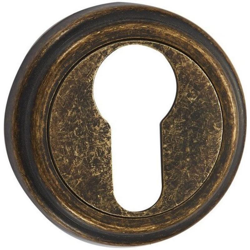 Накладка под цилиндр ET03BR состаренная бронза